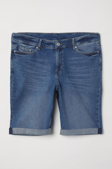 H&M+ Denim shorts - Denim blue - Ladies | H&M