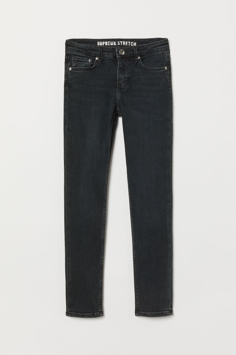 Supreme Stretch Skinny Jeans - Dark blue - Kids | H&M CN