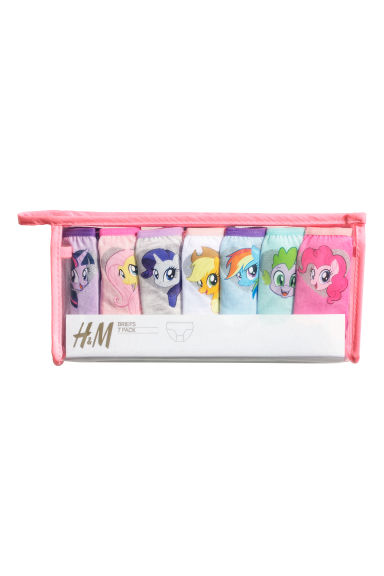 7-pack cotton briefs - Mint/My Little Pony - Kids | H&M