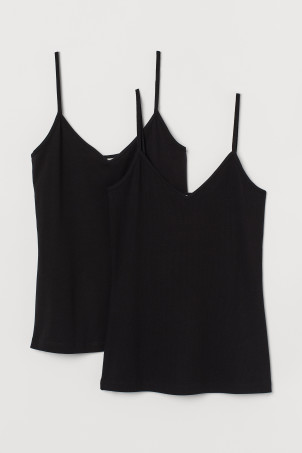 Lot de 2 tops à bretellesModèle