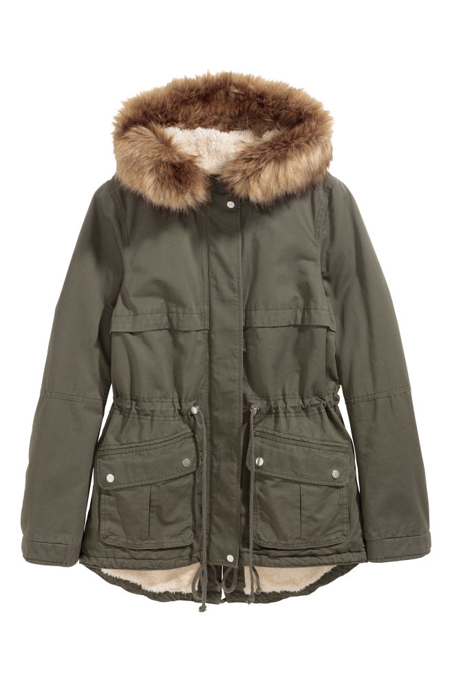 7add67e8efb Pile-lined parka