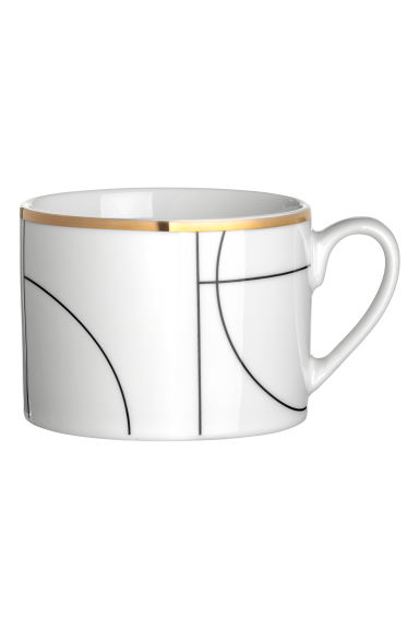Patterned cup - White/Patterned - Home All | H&M GB