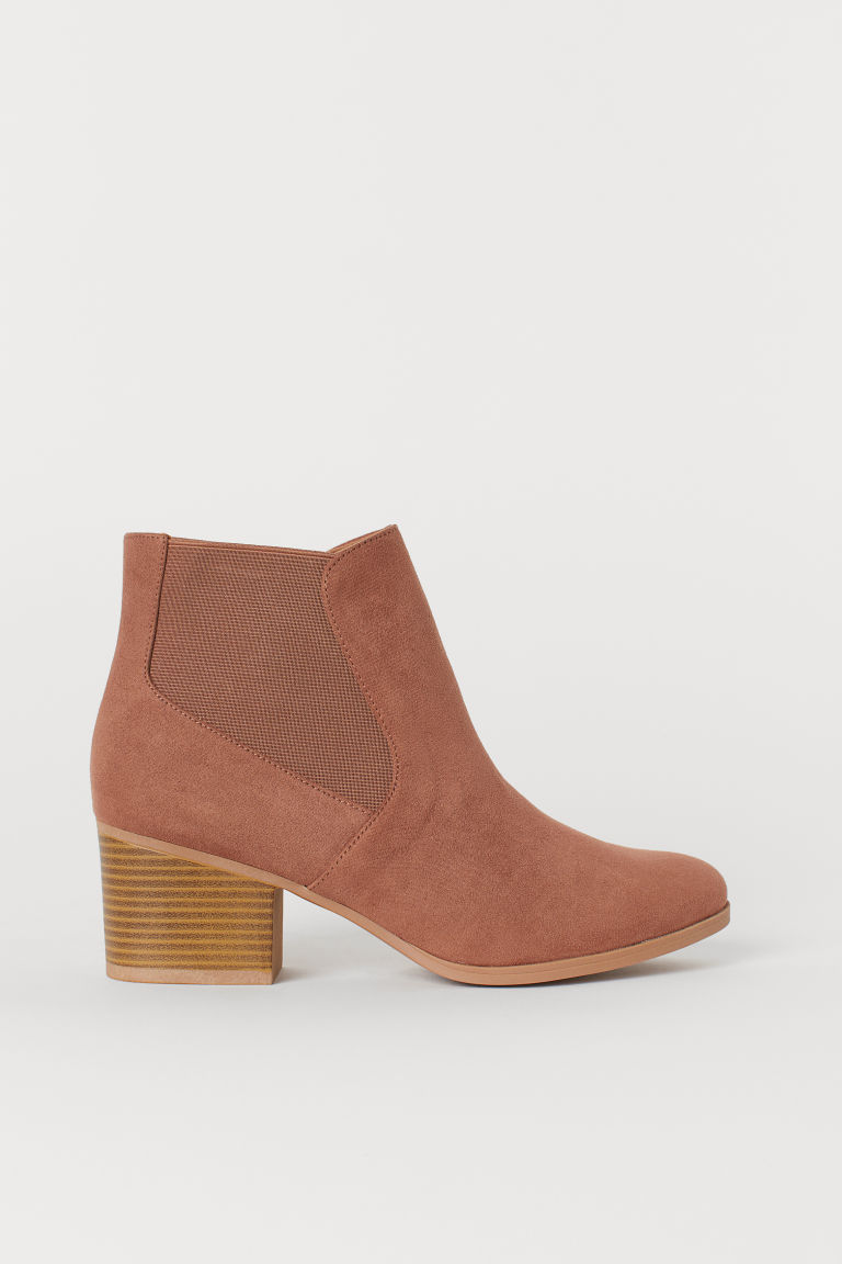 Ankle boots - Light brown - Ladies | H&M CN