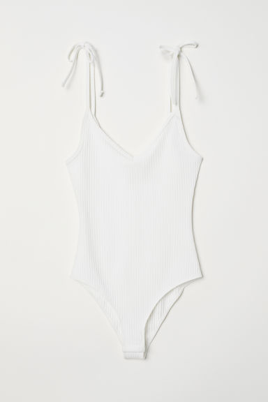 Body a costine - Bianco - DONNA | H&M IT