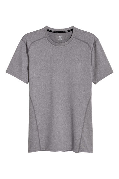運動上衣 - Dark grey - Men | H&M