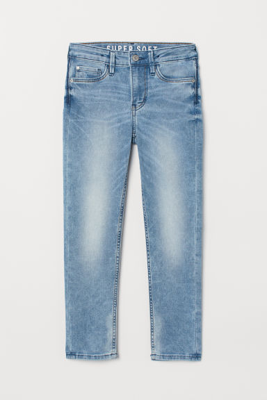 Super Soft Skinny Fit Jeans - Light denim blue -  | H&M