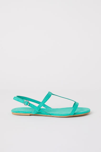 Sandals - Green - Ladies | H&M CN