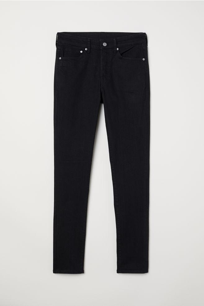 51e9cba2c Skinny Jeans - Black denim - | H&M ...