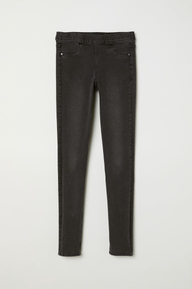 Denim legging - Zwart denim - DAMES | H&M BE