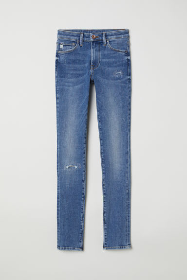 Shaping Skinny Regular Jeans - Denim blue - Ladies | H&M