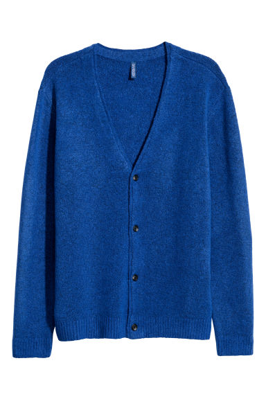 V-neck cardigan - Bright blue -  | H&M IE