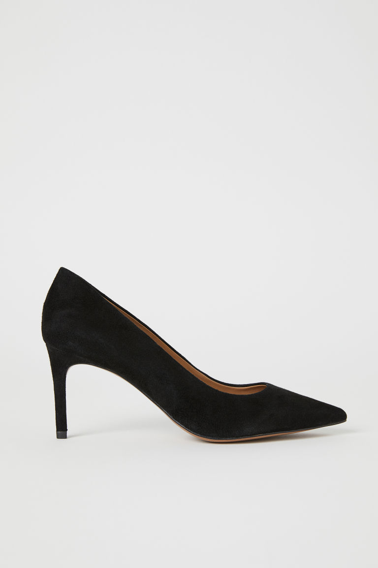 Court shoes - Black/Suede - Ladies | H&M