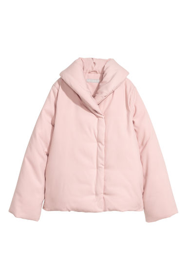 Padded jacket - Light pink - Ladies | H&M CN