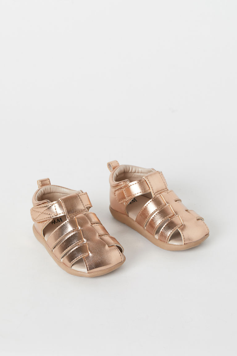 Sandals - Rose gold-coloured - Kids | H&M