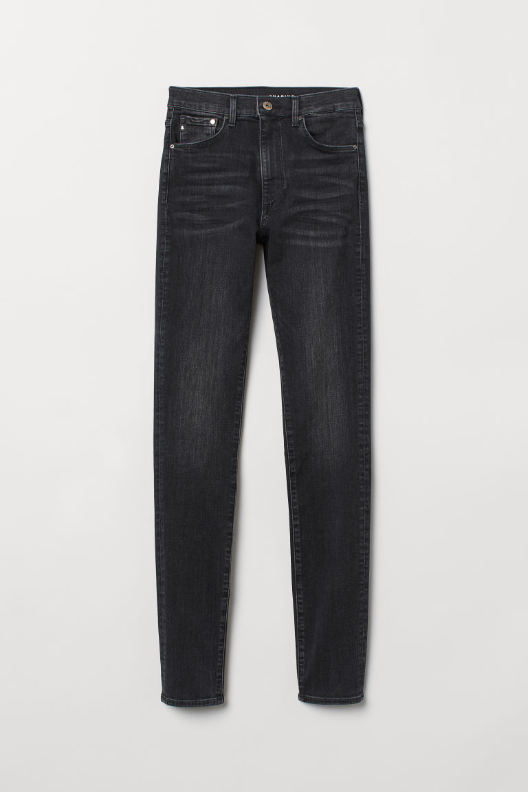 Shaping Skinny High Jeans - Schwarz Washed out - DAMEN | H&M CH