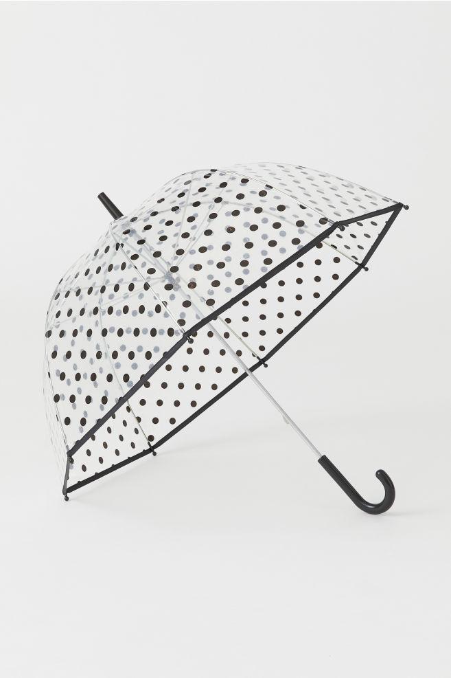Umbrella - Black/dotted - Ladies | H&M US 2