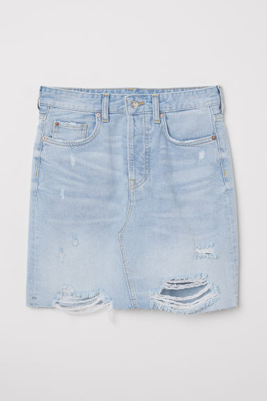 Denim skirt - Light blue - Ladies | H&M