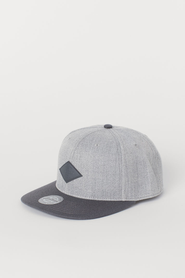Cap - Light grey marl/Grey - Men | H&M