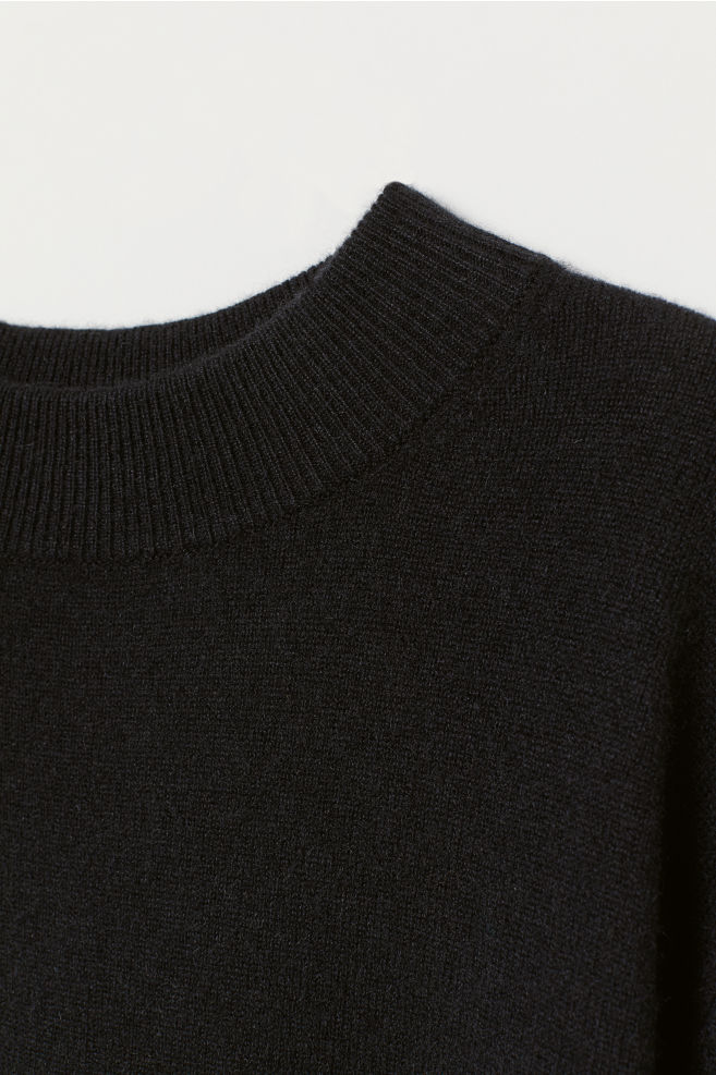 918018ca8 Cashmere Sweater - Black - Men