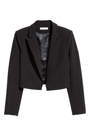 Short jacket - Black - Ladies | H&M GB