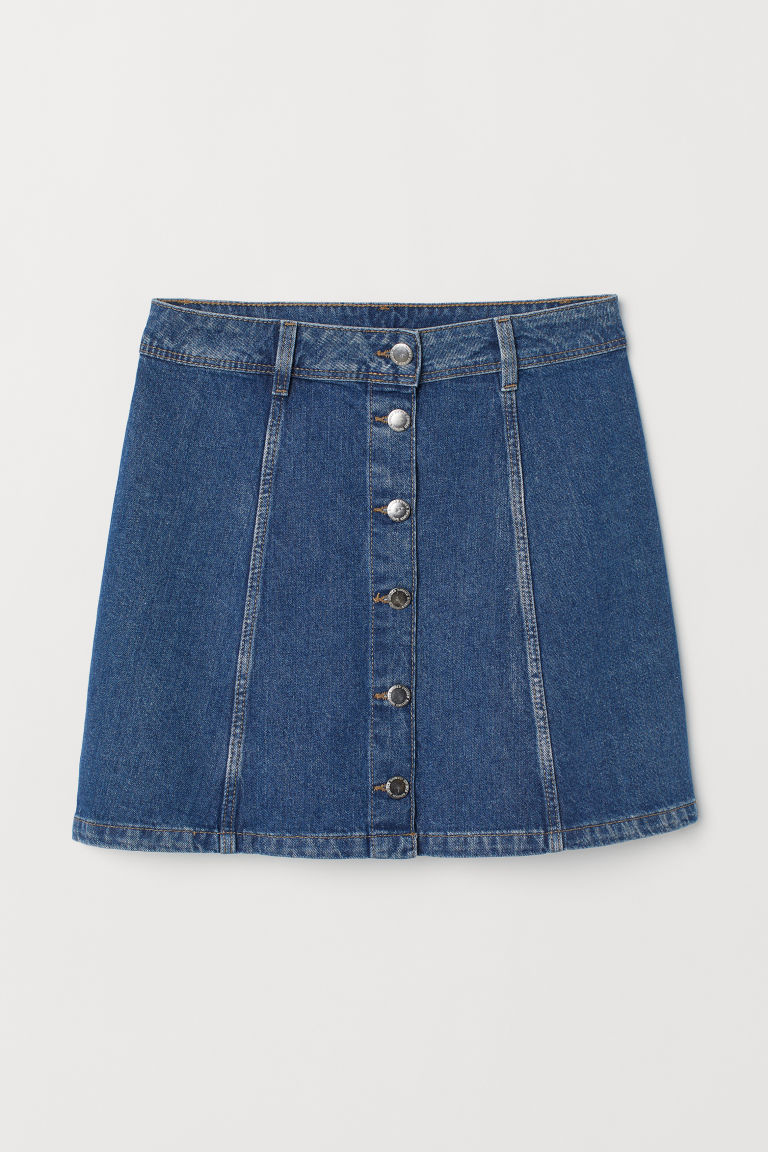 Gonna svasata - Blu denim -  | H&M IT