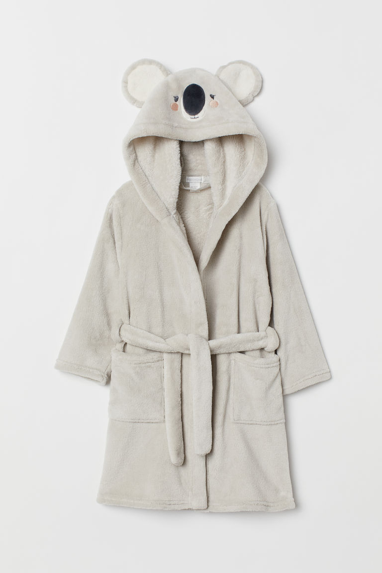 Dressing gown - Light mole/Koala - Home All | H&M GB