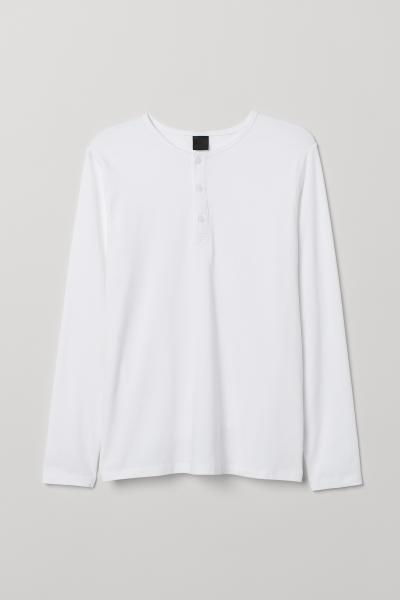 H&M - Long-sleeved top Muscle Fit - 5