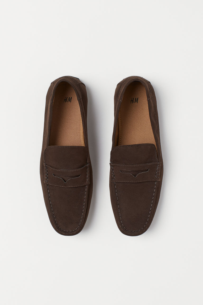 Loafers - Dark brown - Men | H&M GB