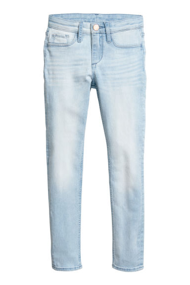 Superstretch Skinny Fit Jeans - Azul denim claro -  | H&M PT