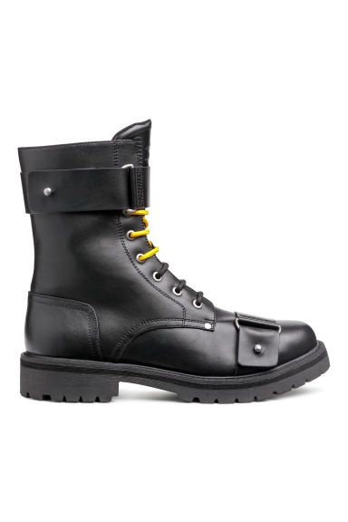 Boots with buckles - Black -  | H&M GB