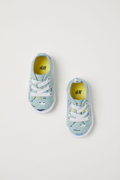 Trainers - Light turquoise/Cars - Kids | H&M