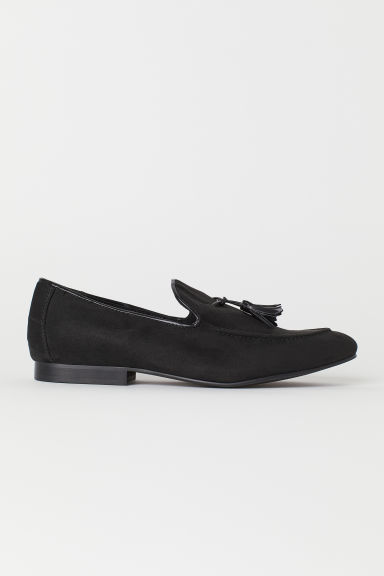 Tasselled loafers - Black - Men | H&M