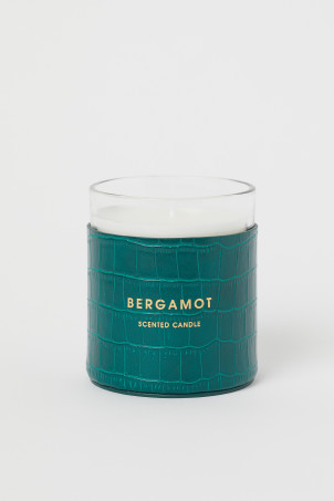 Scented Candle in Glass HolderModel