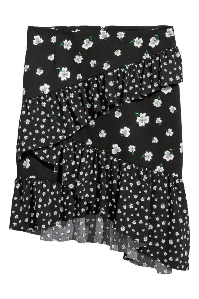 edaeff40 Short Flounced Skirt