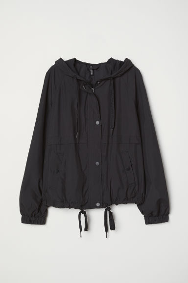 Kapuzenjacke - Schwarz - Ladies | H&M AT