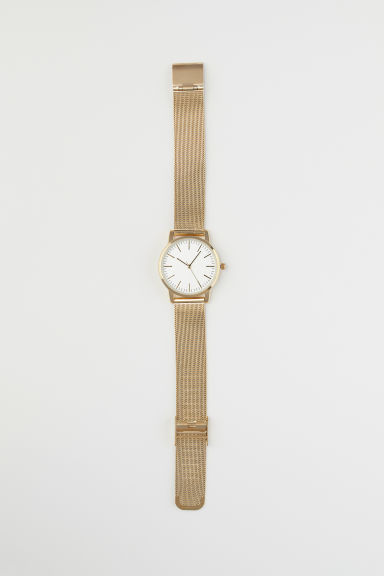 Metal Wristwatch - Gold-colored -  | H&M CA