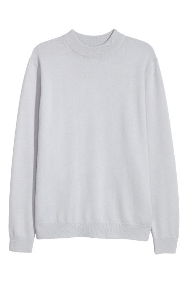 Cashmere jumper - Light blue-grey -  | H&M GB