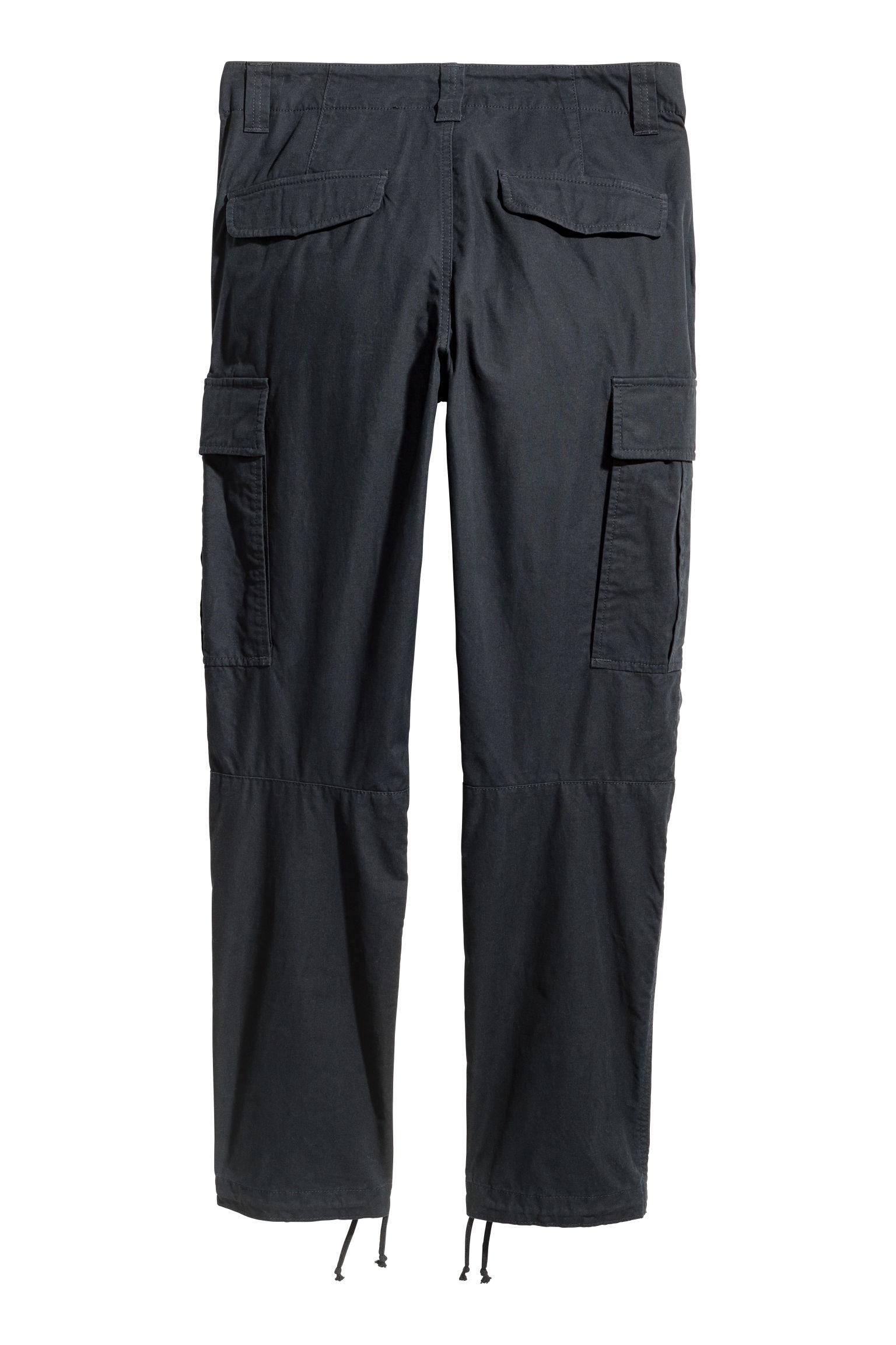 260b5e42473cab Cargo Pants - Black - Men | H&M US