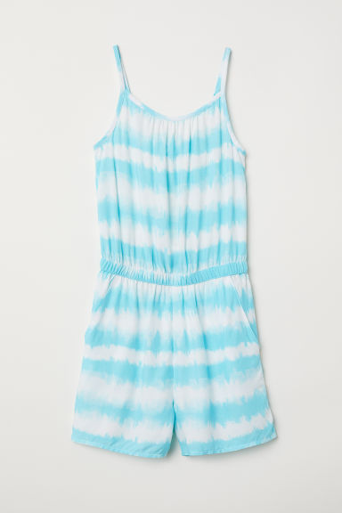 Playsuit - Light turquoise - Kids | H&M CN