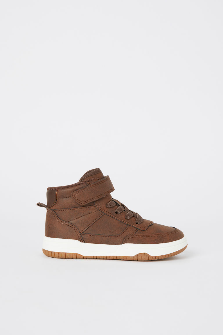 Sneakers alte - Marrone scuro -  | H&M IT