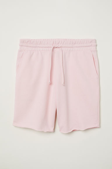 Sweatshirt shorts - Light pink - Men | H&M
