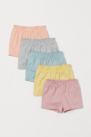 5-pack jersey shortsModel