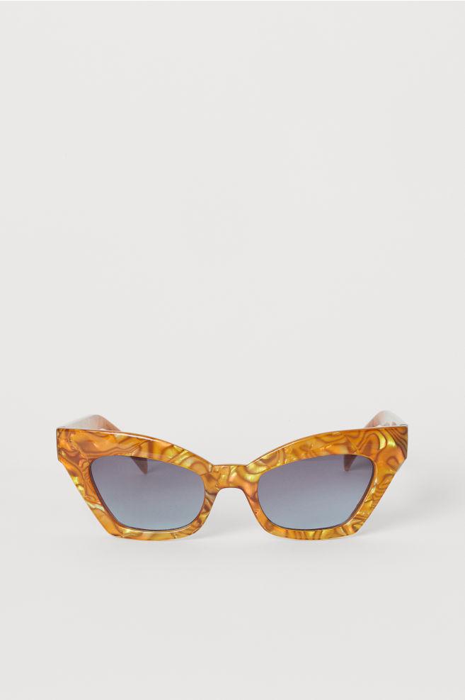 6d4ee63898 Gafas de sol - Color ámbar - MUJER   H&M ...