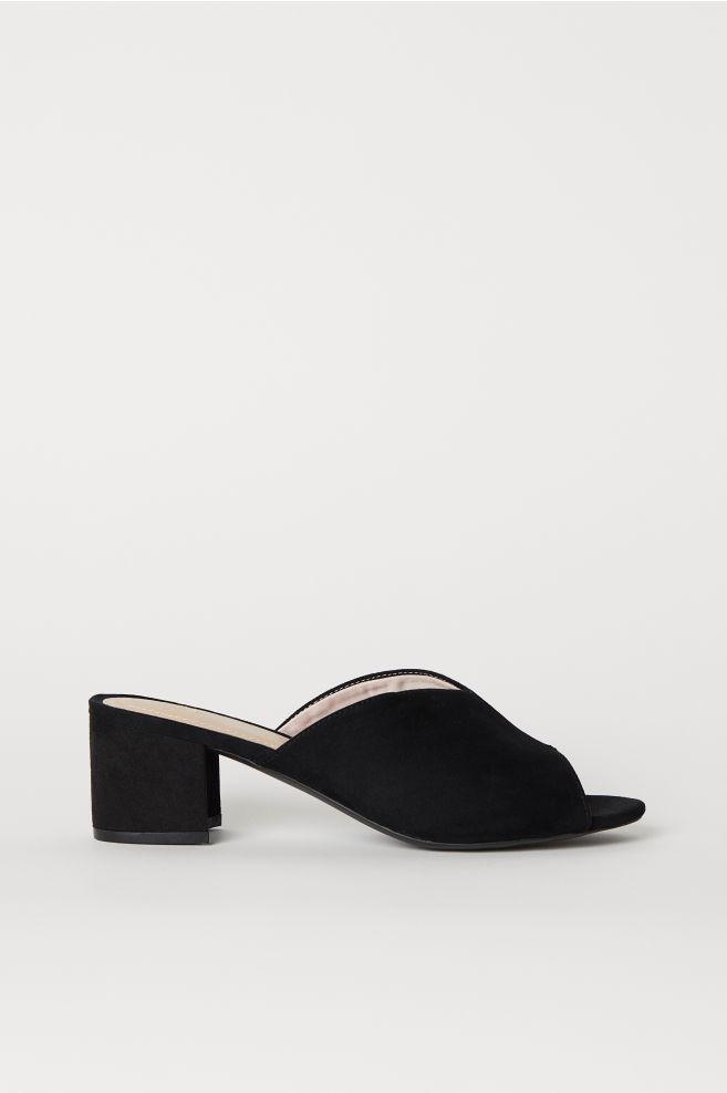 2c50d4d073e Block-heeled Mules
