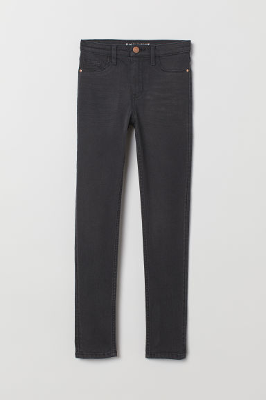 Skinny Fit High Jeans - Nero/washed - BAMBINO | H&M IT