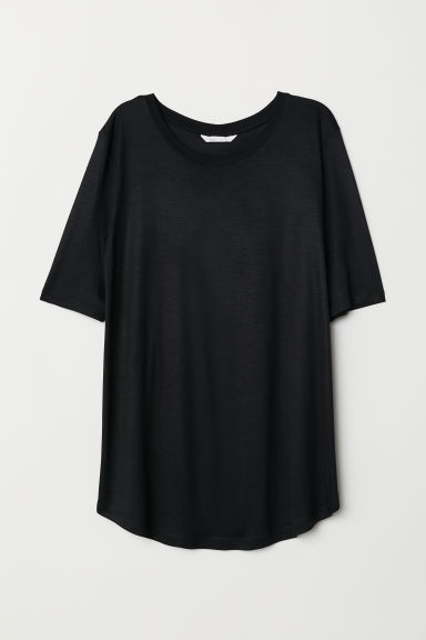 T-shirt - Black - Ladies | H&M