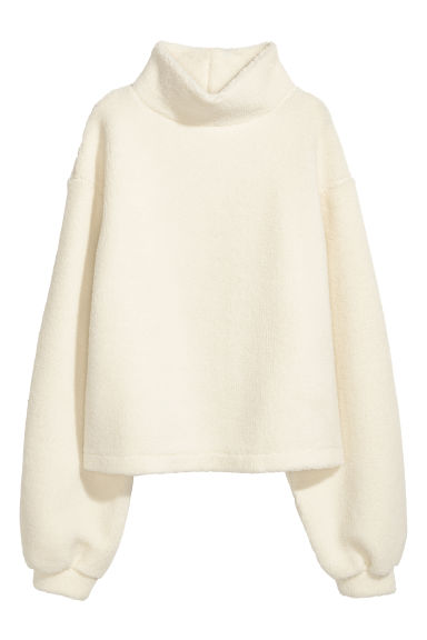 Pile top - Natural white - Ladies | H&M CN