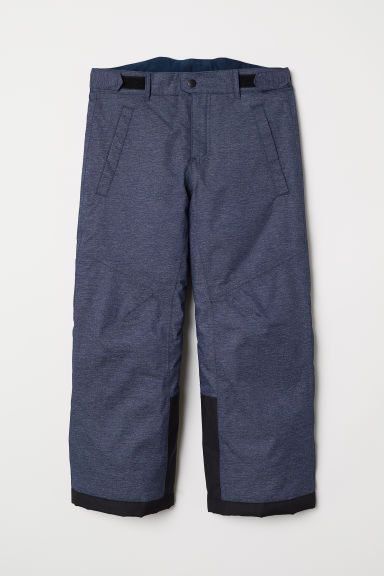 Outdoor trousers - Dark blue marl - Kids | H&M