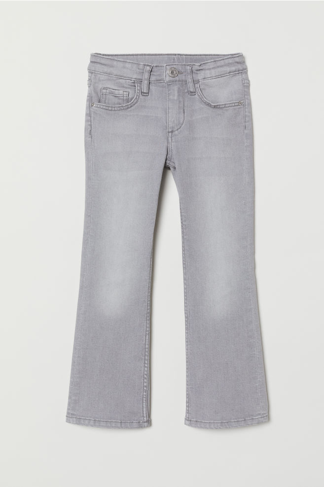 Superstretch Bootcut Jeans - Grå Denim - BARN  5f29447ac4d44