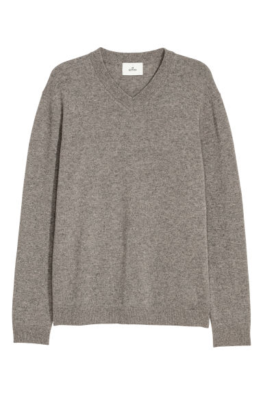 Pull en cachemire - Taupe -  | H&M FR